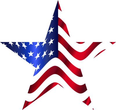 Star American Flag Transparent Png Photo