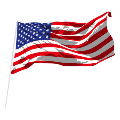 Usa Waving Flag Transparent Png