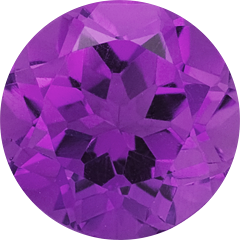 Amethyst, Circle, Round, Purple, Stone