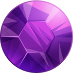 Amethyst Gem Icon Png PNG Images