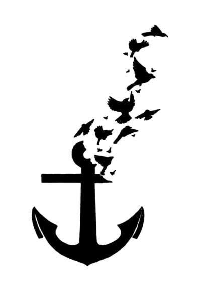 Transparent Anchor Tattoos PNG Images