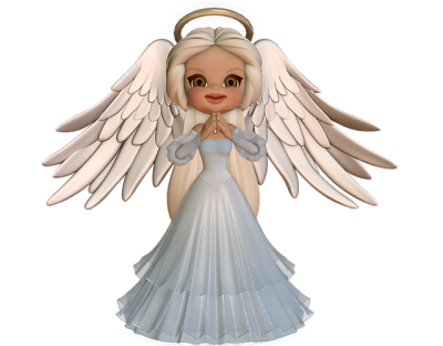 Baby Angel Wing Cookie Sweet PNG Images
