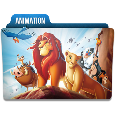 Animation Folder Icon Png PNG Images
