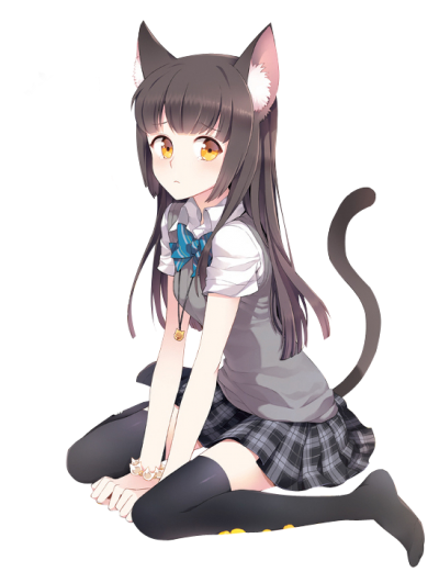 Anime Girl Transparent Image PNG Images