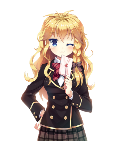 Download Anime Girl PNG 18