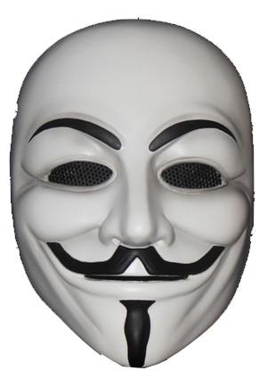 Anonymous Mask Transparent PNG Images