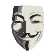 White Anonymous Mask Png PNG Images