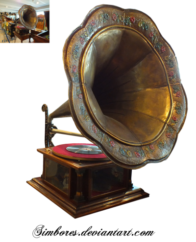 Antique Gramophone Pictures PNG Images