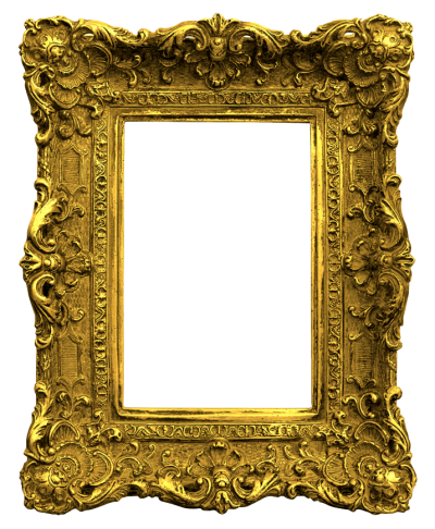 Gold Antique Frames Png Clipart