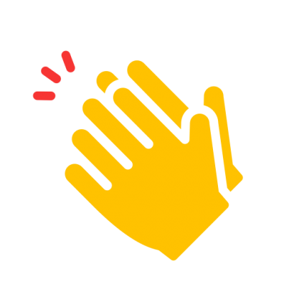 Download Yellow Clipart Of Clapping Hands PNG Images