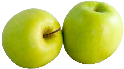 Two Green Apple Png PNG Images