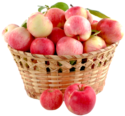 Apple Fruit In Basket Photo