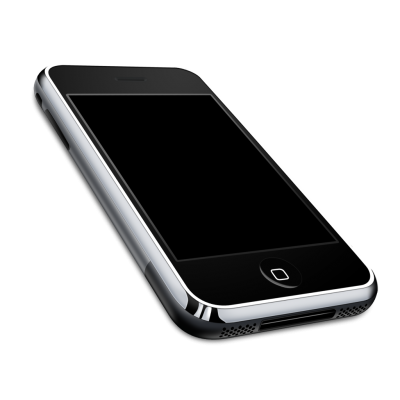 Download Black Apple Iphone Old PNG