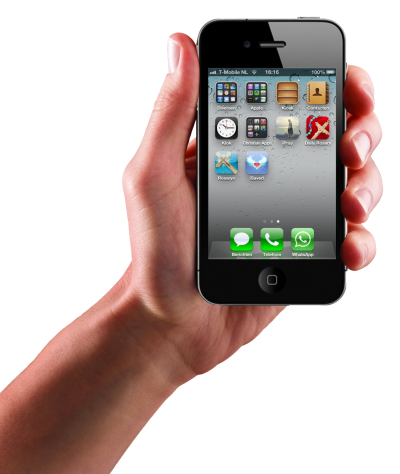 Apple Iphone Hand HD Photo Png