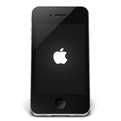 Black Apple Iphone Free Download