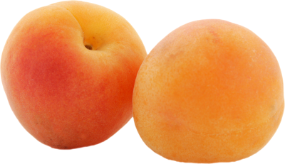 Two Orange Apricots HD PNG
