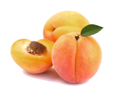 Transparent Apricots PNG Picture
