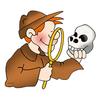 The Skull The Archaeologist, Of The World Clipart