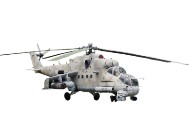 Free Army Helicopter Picture White