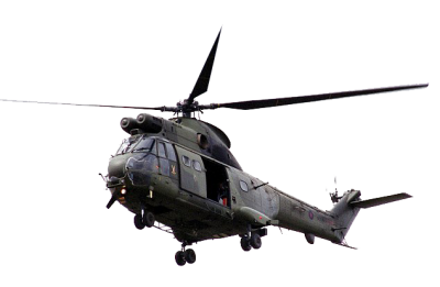 Army Military Helicopter PNG Image