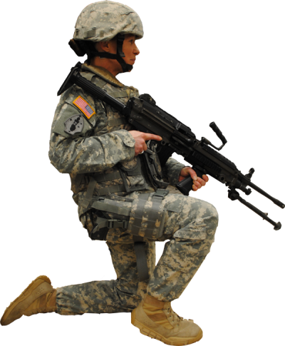Kneeling Soldier, Download Photo Of Army