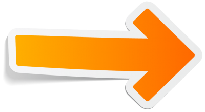Arrow Orange Right Transparent Png