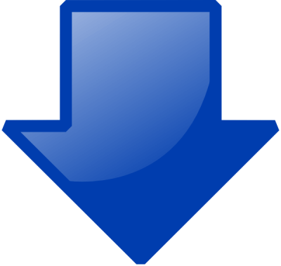 Blue Down Arrow Clip Art At Images