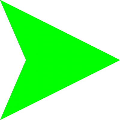 Green Arrow Right PNG Images