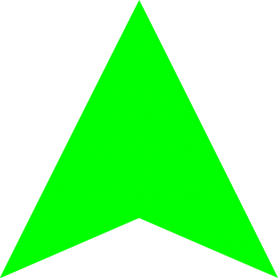 Green Arrow Up Pictures PNG Images