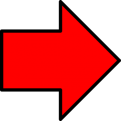 Red Drawn Arrow Png PNG Images