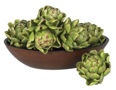 Artichokes, Bowl Transparent Background