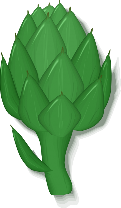 Artichokes Superfood Clipart Picture PNG Images