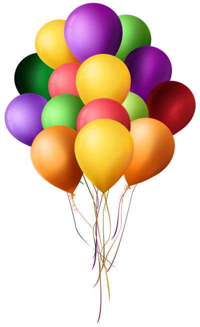 Art Colorful Flying Balloons PNG Image PNG Images