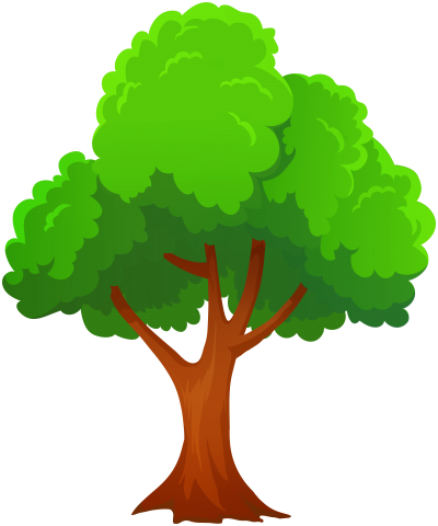 Tree PNG Art Image, Tree Branch, Brown Trunk PNG Images