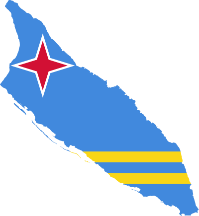 PNG Aruba Flag PNG Images