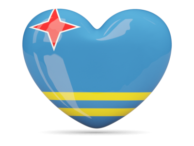 Heart, Flag Aruba Hd Free PNG Images