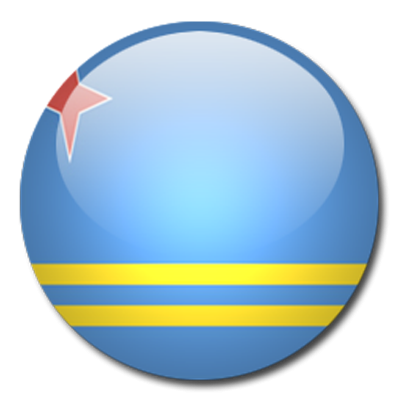 Aruba Flag Clipart On Ellipse PNG Images