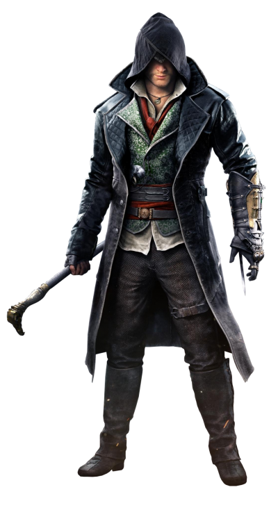PNG Assassins Creed Actor With A Black Hat In His Hand. PNG Images