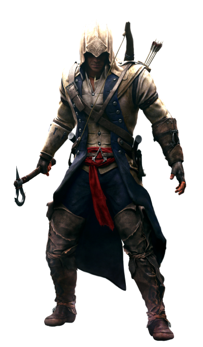 Assassins Creed Attacked Warrior Image PNG