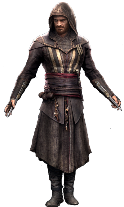 Hd Black Faith And Character Assassins Creed In Brown Suit PNG Images