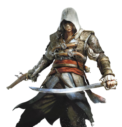 Player Assassins Creed Sword Of Faith Dowland Trasparent