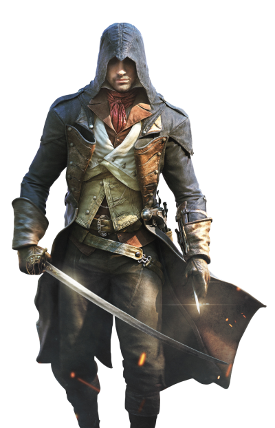 Assassinu Creed Warrior Picture With Sword In Hand Png
