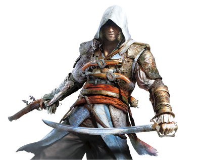 White Assassins Creed Belief Background Picture PNG PNG Images