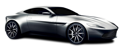 Image Aston Martin Car Silver Color PNG