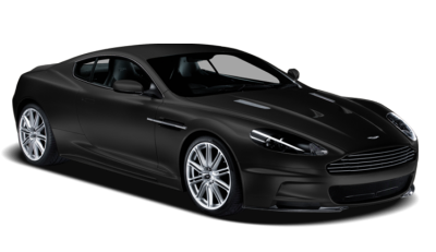 Aston Martin Matte Black Picture PNG, Expensive Car Image, Exhaust, Transmission, Brake PNG Images