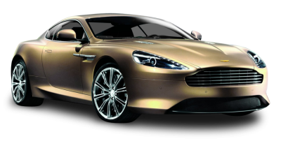 Aston Martin Car Show In Golden Color PNG, Extreme, Headlight, Light PNG Images