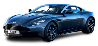 Aston Martin Blue PNG Image, Luxury Sport Car