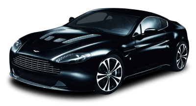 Glossy Black Car Aston Martin Picture