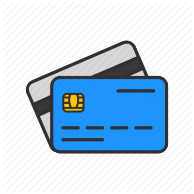 Blue Clipart Atm Card Dowland PNG Images