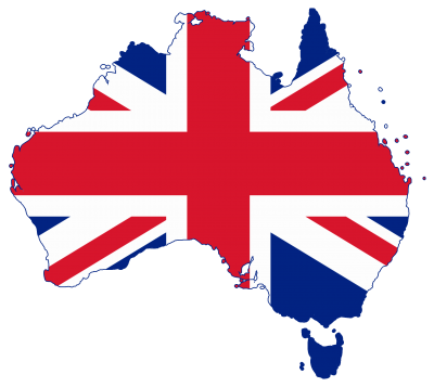 Australia Flag Simple PNG Images